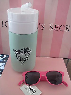 Victoria's Secret Pink water bottle and bottle opener sunglasses