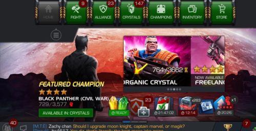 marvel contest of champions account