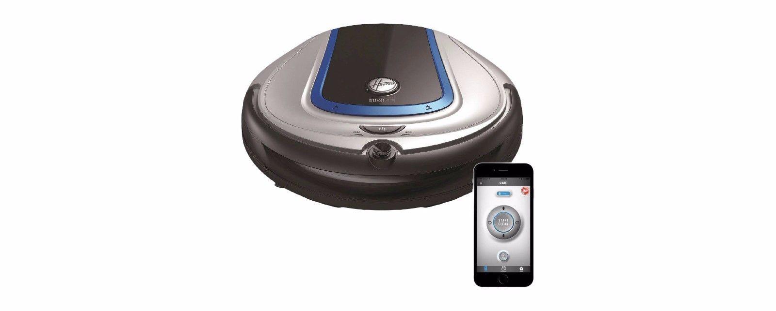 Hoover Quest 700 Bluetooth Robotic Vacuum BH70700 Dirt Sensor