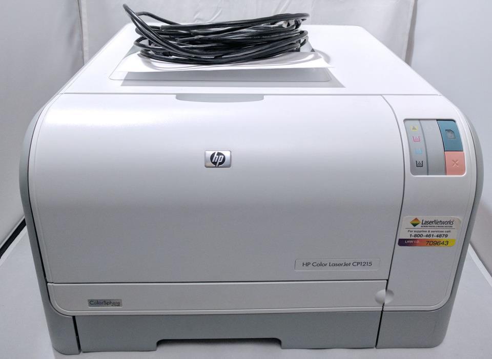 HP LaserJet CP1215 Workgroup Laser Printer