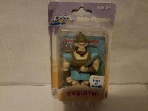 vintage tales of glory Goliath figure sealed in original package
