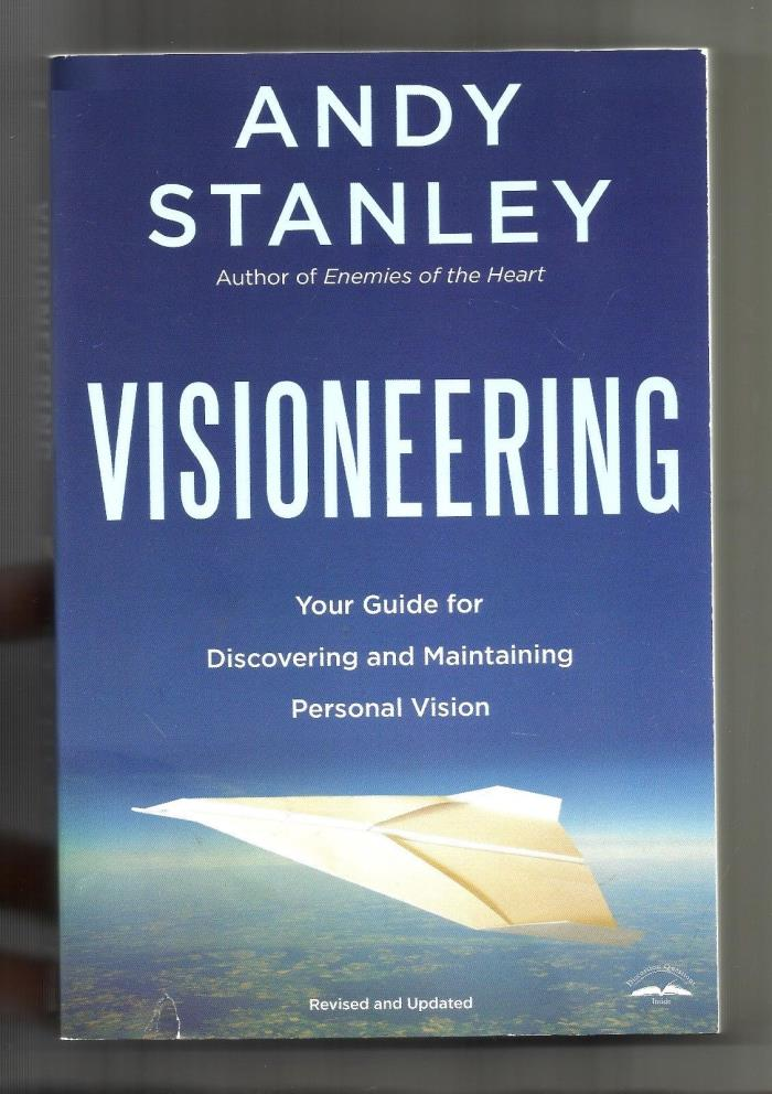 ANDY STANLEY Visioneering (2005, PB) Personal Vision: North Point: Christianity