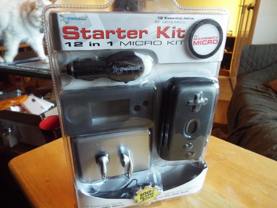 Game boy, micro, starter kit, New!