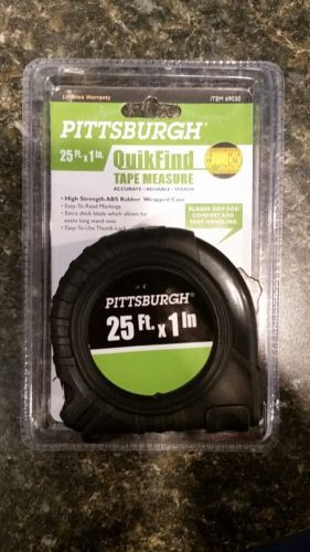 pittsburgh quickfind tape measure