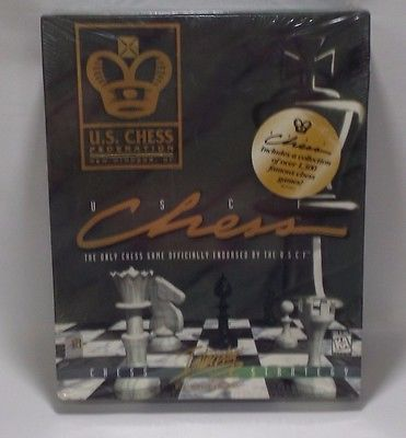 US Chess Federation USCF PC Computer Game 1997