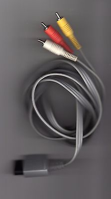 Playstation 2 & Nintendo NES AV Cords Original