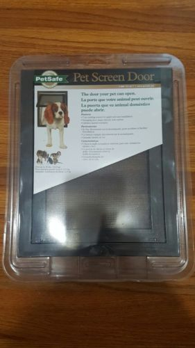 PetSafe Pet Screen Door P1-ZB-11 Premiu Small Dog Cat Moustiquaire Way Safe Pet