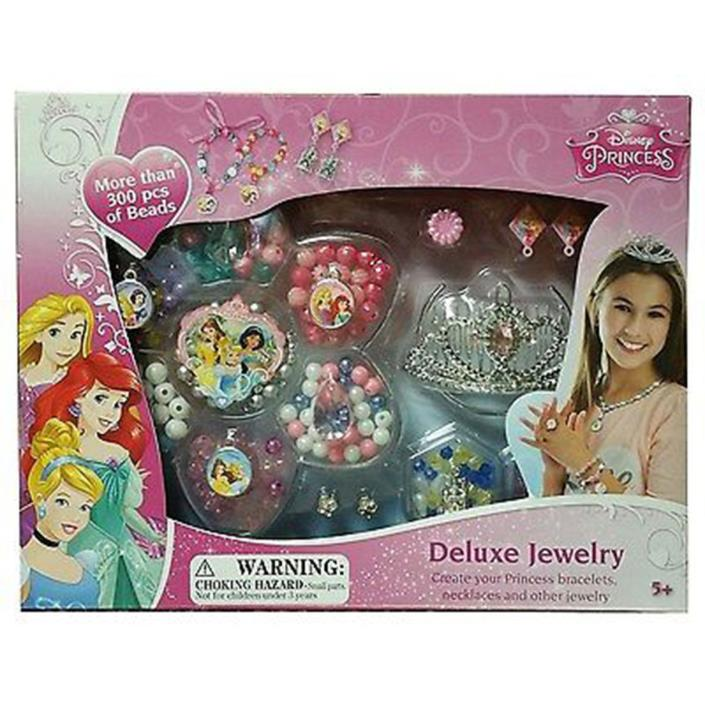 Disney Princess Deluxe Jewelry More Than 300 Pcs Of Beads 1 Kit