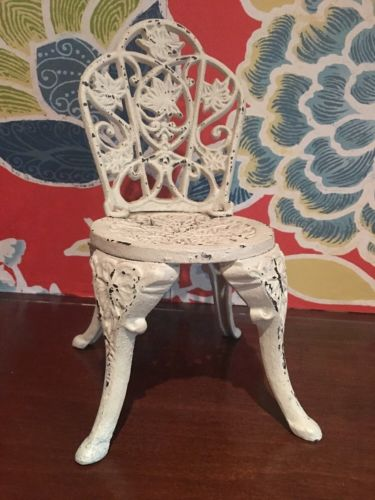 Metal Decorative Chair Shabby Chic