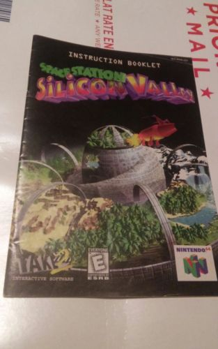 Nintendo 64 N64 Space Station Silicon Valley Instruction Booklet Manual No Game