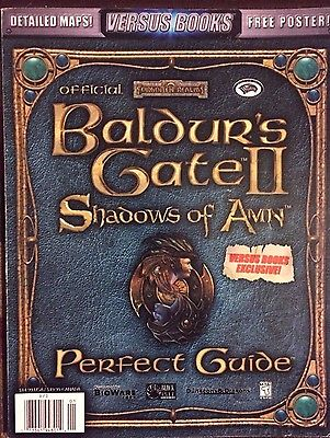 BALDUR'S GATE II SHADOWS OF AMN STRATEGY GAME  GUIDE