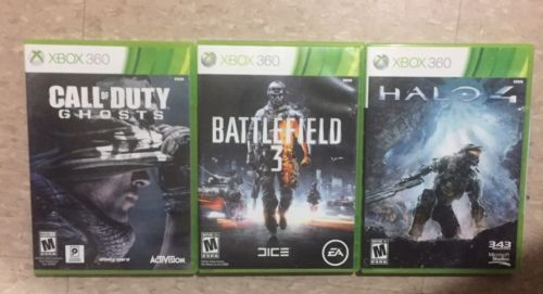 Xbox 360 lot of 3 games $11.99