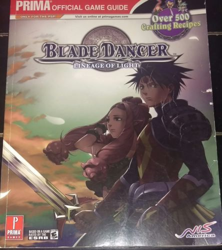 Prima Official Game Guides: Blade Dancer - Lineage of Light