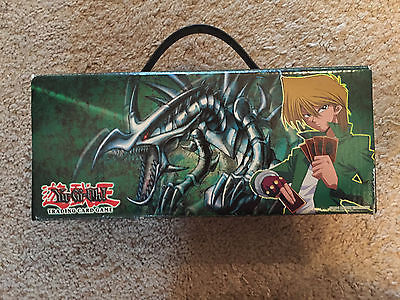 Joey Official Konami Card Carrying Box Case 1996 Upper Deck - NO CARDS