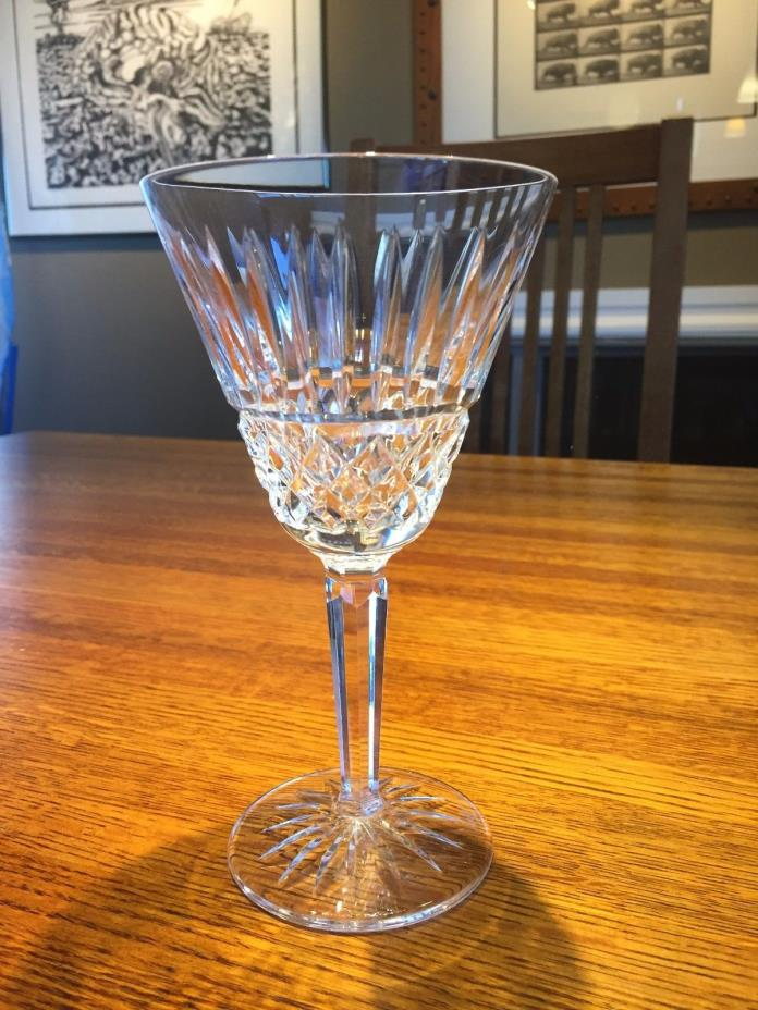 Large Waterford Maeve Cut Crystal Water Goblet Three Available
