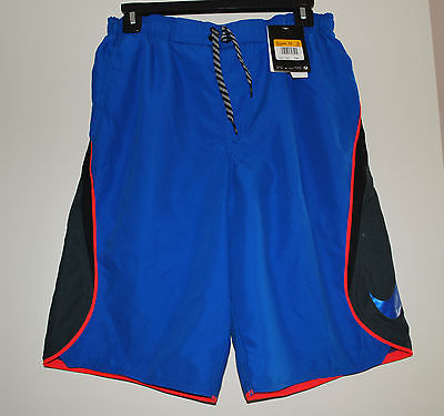 New Nike Men's Swin Trunk S Royal Blue  Nwt Retail $58