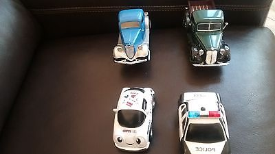 Collectors Trucks And Cars Lot Of Four