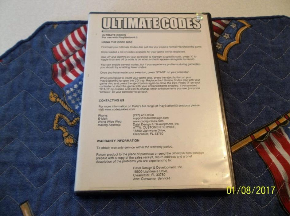 ACTION REPLAY MAX ULTIMATE CODES FOR PLAYSTATION 2 WITH BOX & MANUAL