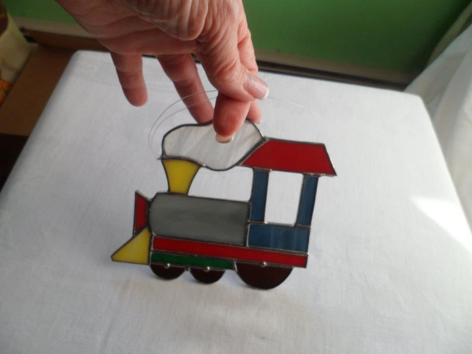 Suncatcher / Christmas ornament - Train