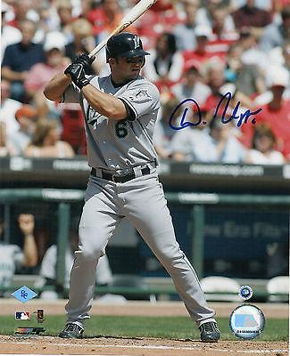 MLB Authenticated BC Sports Dan Uggla Florida Marlins Autographed 8x10 Photo