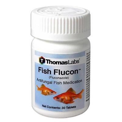 Fish Flucon - 100mg 30ct tablets new capsules free shipping