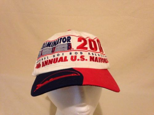 Top Eliminator Club Hat 46th 2000 National Hot Rod Association IN Members Hat