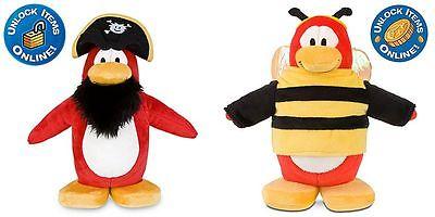 2pc Disney Club Penguin Plush 9