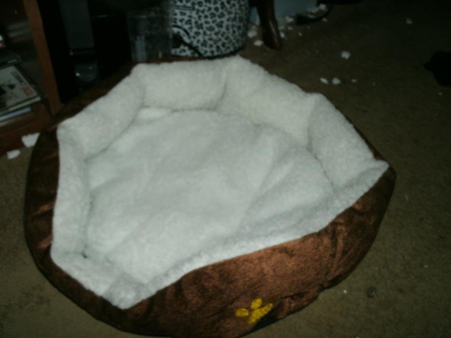 Pet Dog Cat Bed Puppy Pet Soft Warm Fleece Kennel Dog MED SIZ
