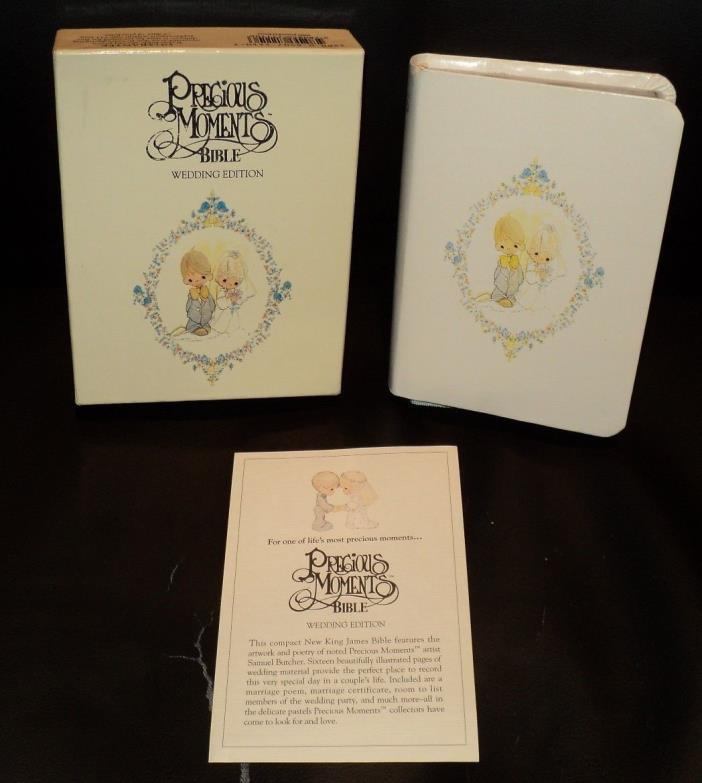 PRECIOUS MOMENTS Wedding Edition (1992, Soft HB) BRAND NEW: NJKV: Silver Leaf