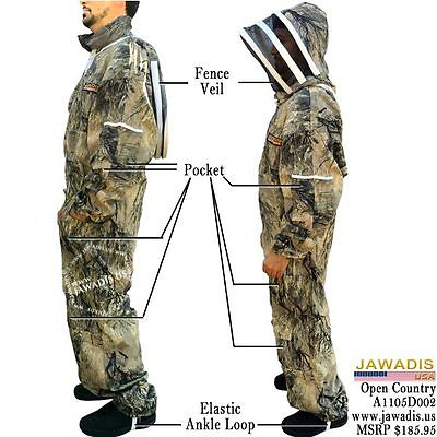3XL Jawadis Seclusion 3D Open Country Camouflage Cheap Beekeeping Bee Suit Sale