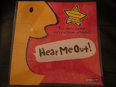 'HEAR ME OUT' GAME - BY TOY SITE (NIB)