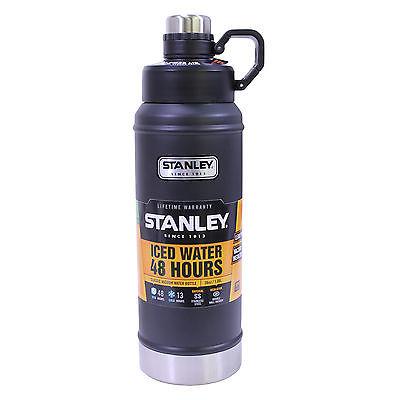 Classic Vacuum Water Bottle 36oz Black