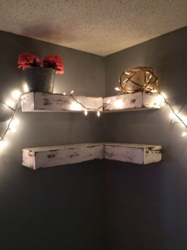 Reclaimed WoodFloating Shelves Handcrafted By Southern Scraps Woodworking