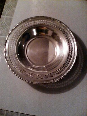 vintage silverplate serving dish