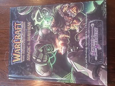 D20 3.5: Sword & Sorcery: Warcraft the Roleplaying Game: Magic & Mayhem HC