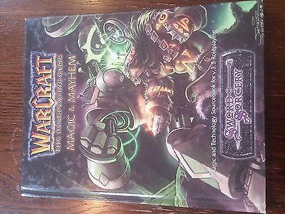 D20 3.5: Sword & Sorcery: Warcraft the Roleplaying Game: Magic & Mayhem HC