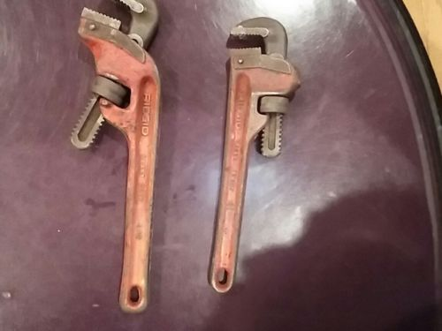 2-ridgid  heavy duty wrenches.