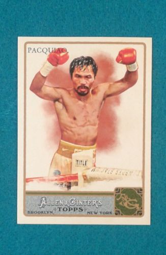 2011 Topps Allen & Ginter's #262 Manny Pacquiao RC Rookie Baseball Card
