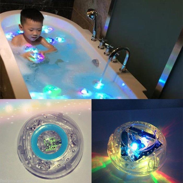 Kids Funtime Waterproof  Bath Led Light Toys