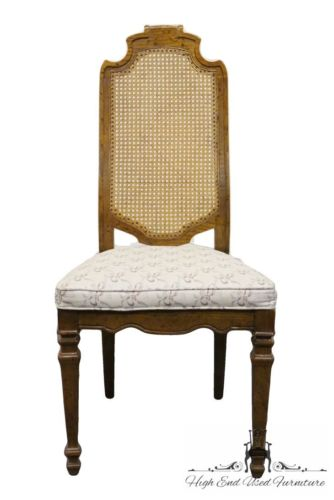 DREXEL HERITAGE Talavera Collection Spanish Revival Cane Back Side Chair 441-830