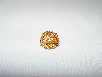 VINTAGE BIRKS 10k YELLOW GOLD  AWARD PIN INCO INTERNATIONAL NICKEL CO.  SCARCE