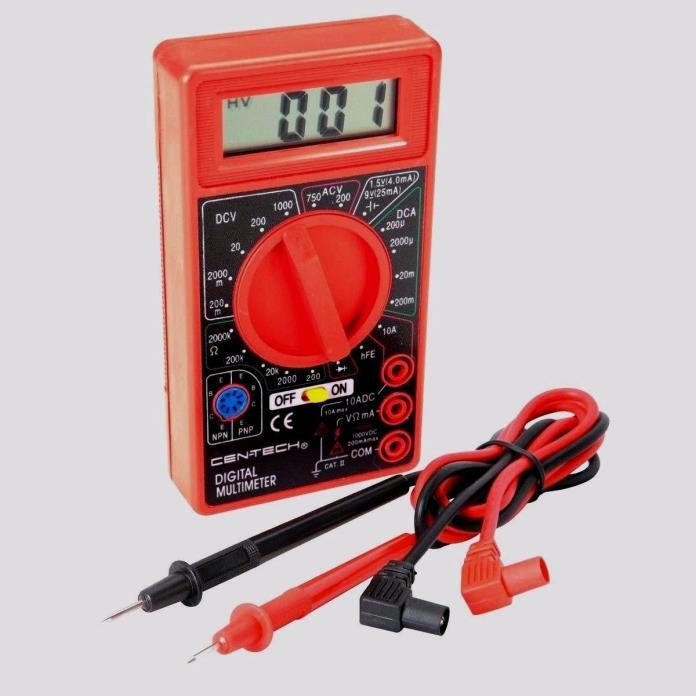 Cen Tech Digital Clamp Meter : Digital multi meter for sale classifieds