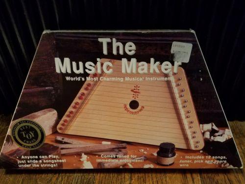 The Music Maker Nepenenoyka Lap Harp Dulcimer Musical Instruments & Sheet Music
