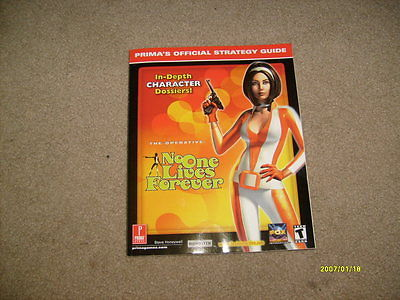 No One Lives Forever Prima Games Strategy Guide