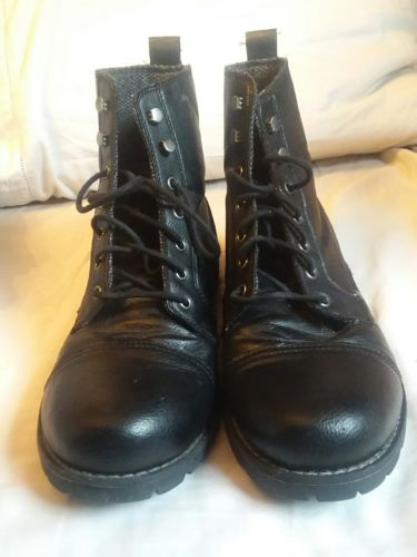 mossimo supply combat boots men size 12