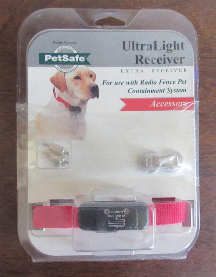 PetSafe Ultralight Receiver UL-250 Dog Fence Collar Pet Training System New
