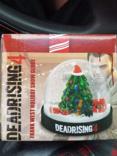 Dead Rising 4 Frank West Holiday Snow Globe