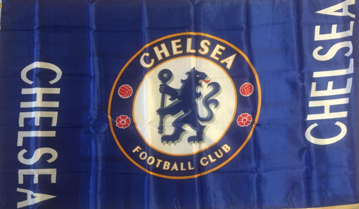 CHELSEA FC3x5 Feet FLAG BANNER, HOME COLORS, Large Size Unique Style