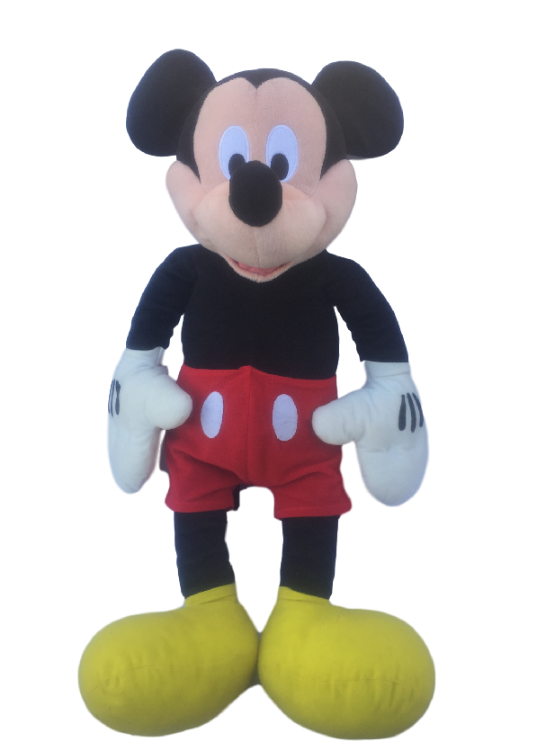 Mickey Mouse large plush Disney vintage pop