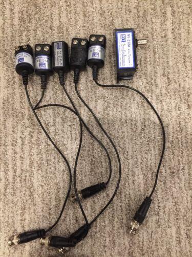 Lot Of 6 NVT NV-211T-M NV-212 NV-214-M CCTV Passive Transmitters